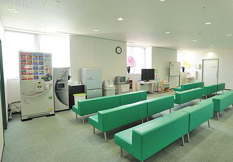 健康管理センター待合室