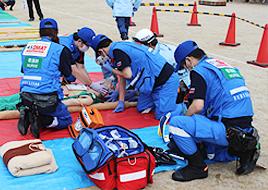 久喜市総合防災訓練